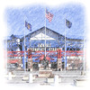 Rosenblatt Stadium 1948-2010 : Omaha's Rosenblatt Stadium, former home of the College World Series until 2010.